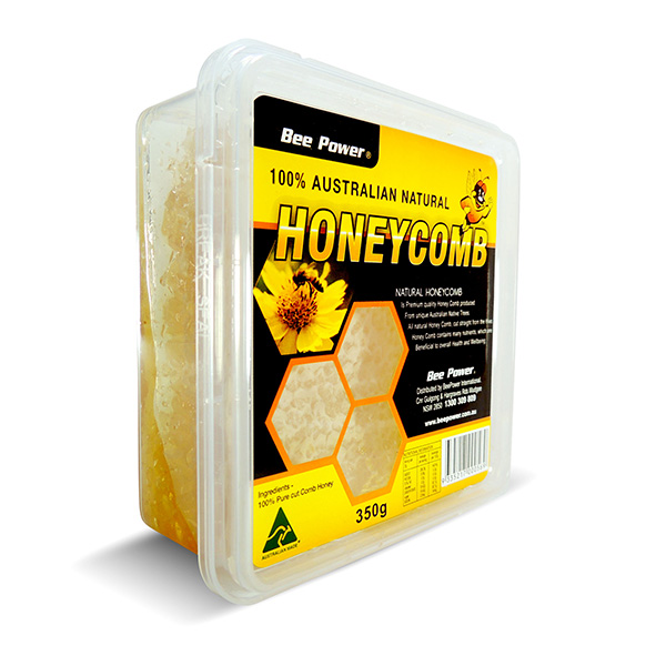 BeePower Pure Honeycomb Box 350g