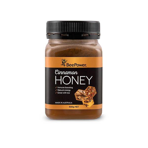BeePower-Cinnamon-Honey-500g